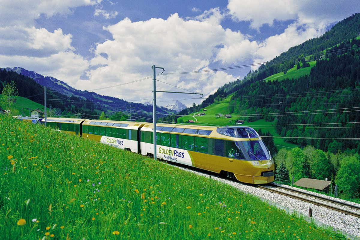 Gruyères Panoramic train