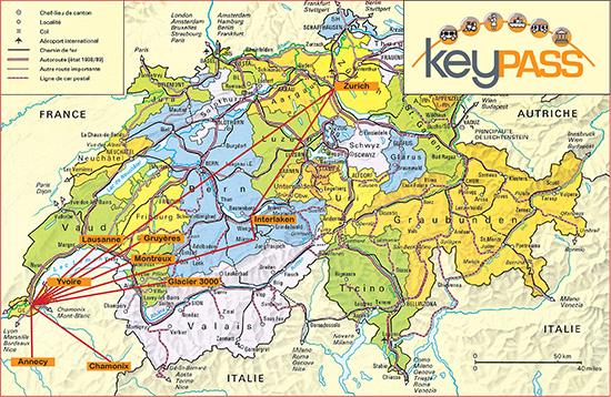 Map Keypass